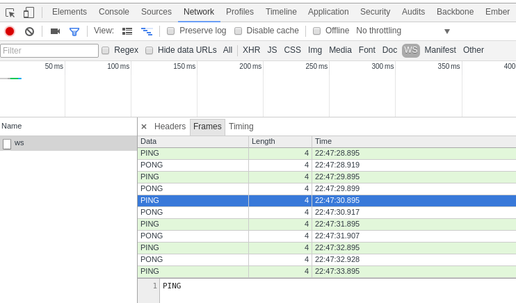 Writing WebSocket servers (2 of 2)